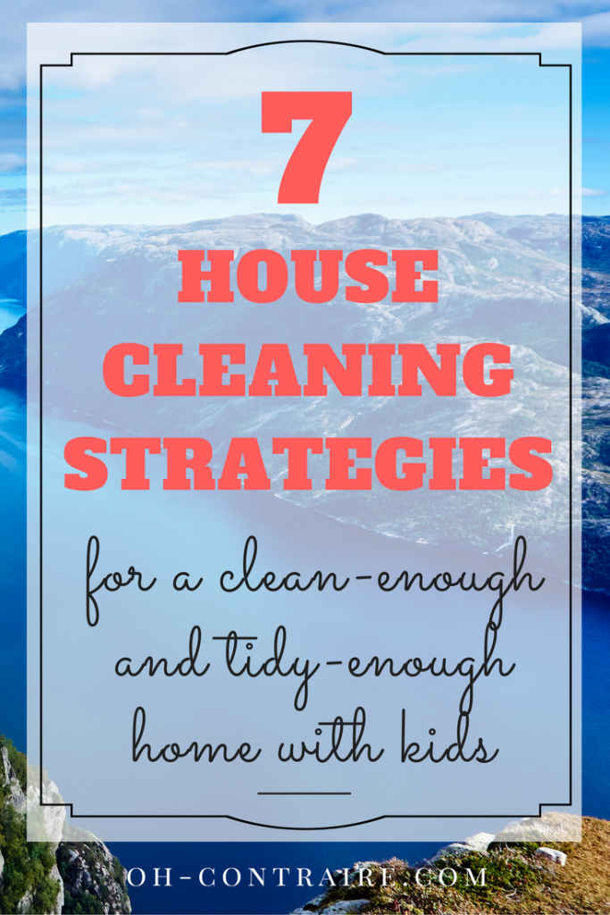 How To Keep The House Clean And Tidy All Summer Long With Kids