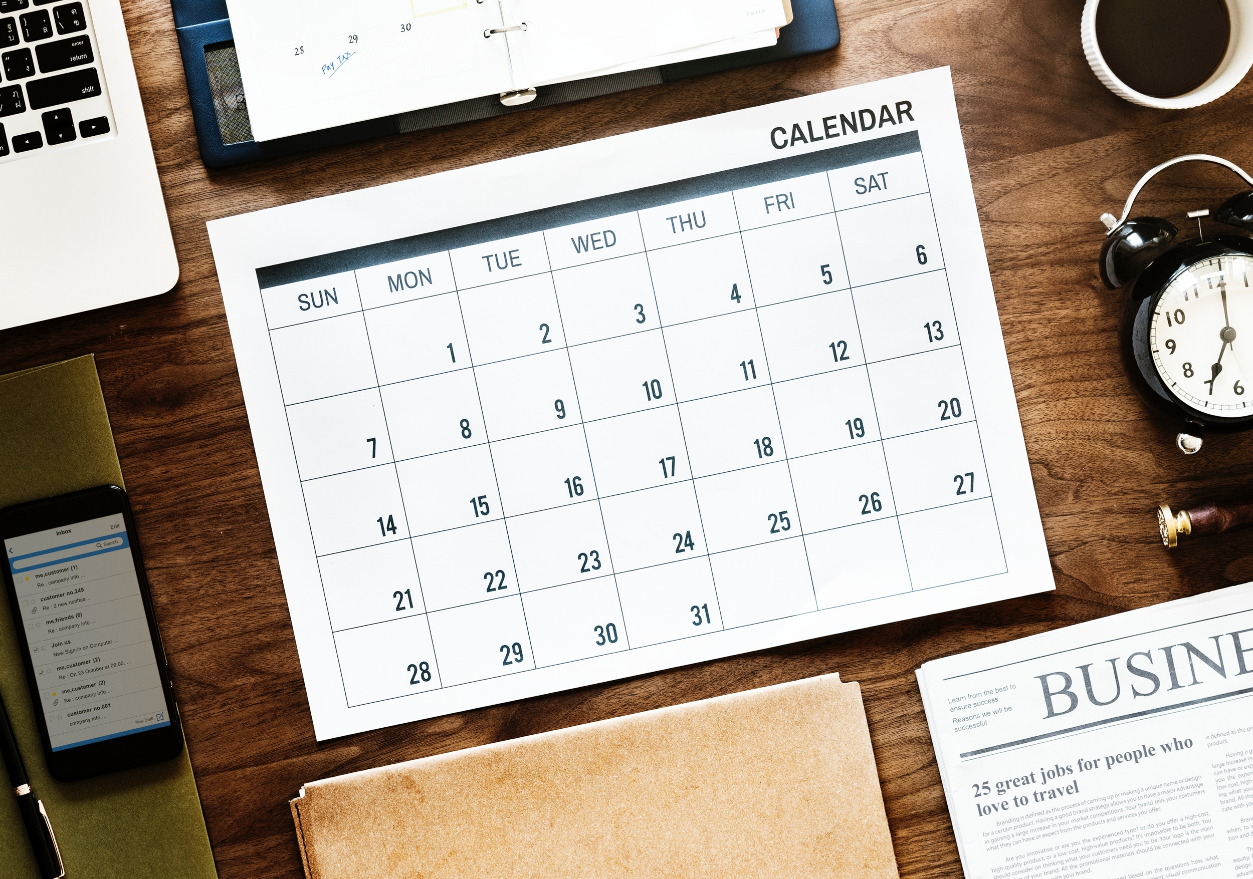 How to set up your family calendar for the whole year