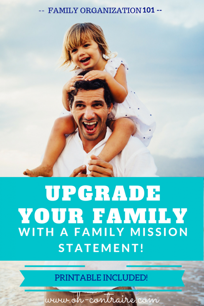 A Family Mission Statement is a parenting tool you just can't live without if you, too, think that parenting is quite challenging - most of the time.